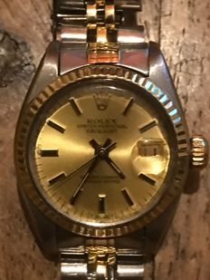 Rolex Oyster Perpetual datejust Ladies 1978