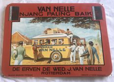 Enamel sign for Van Nelle tobacco - 1990s
