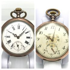 "Lot of 2 ""Gala - Haute Precision / Antimagnetique"" movement - pocket watches - ca. 1900"