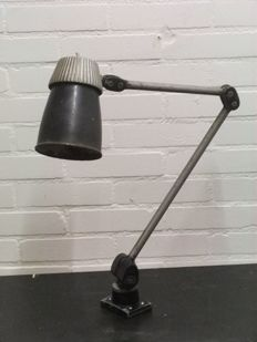Designer Unknown  - Industrial Workbench Arm Lamp