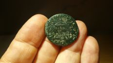 Roman Empire - Traianus 98-117 AD. AE As. Circa 104-107 AD.