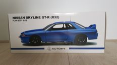 AUTOart - Scale 1/18 - Nissan Skyline GT-R R32 Plain Body - Blue