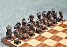 Chess set Napoleon's army