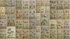 SOLDIERS - Corriere dei Piccoli, Album dei Soldati - Lot of 48 pages with armies from around the world