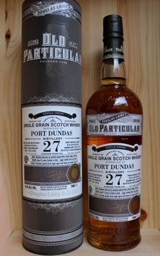 Port Dundas 27 Glorious years old Douglas Laing Single Grain Scotch Whisky