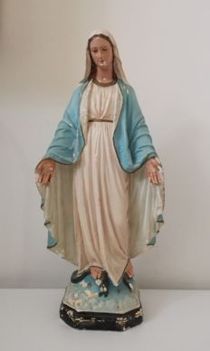 Sculpture of the Immaculate Virgin - Southern Italy - 1950