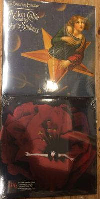 Two albums of Smashing Pumpkins    Still sealed    Limited edition