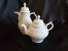 Coffee machine and tea pot by Rosenthal Sansouci Weiss