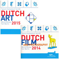 The Netherlands - Muntsets 2014 and 2015 'World Money Fair Berlin' (2 different kinds)