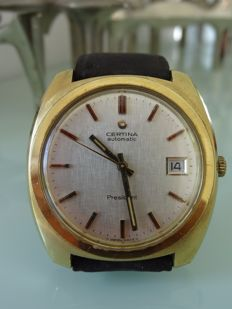 Certina President Automatic Vintage  men's watch - around 1960-  minor signs of age