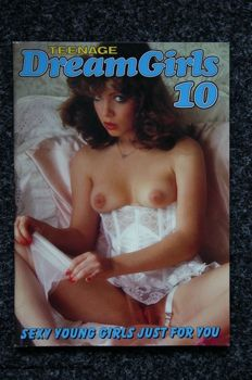 Pornography; Lot with the 2nd series of 9 issues of Teenage Dream Girls - 1990/1992