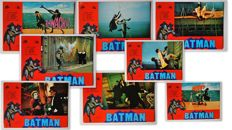 Complete Set Of Batman - 8x Movie Posters - (1979)