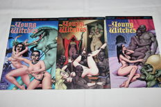 Comics; R. Barreiro & F. Solano Lopez - The Young Witches: Empire of Sin - 3 volumes - 1998/1999