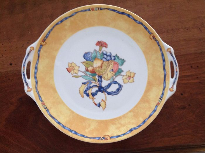 Limoges Borghese Bernardaud cake/serving plate