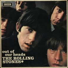 The Rolling Stones - Out Of Our Heads - Scarce 1965 French DECCA Vinyl LP