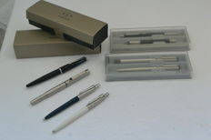 Parker fountain pen no 17 parker 25 flighter Vector + new + parker Jotter boxes