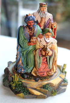 Franklin Mint 1992 - Gianni Benvenuti -The Gift of the Magi - hand-painted
