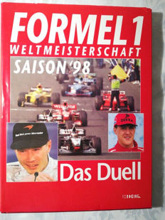 "Book, Formel 1 WM  98 "" Das Duell"" german language,  printed in Germany"
