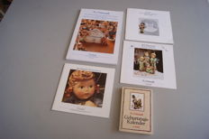 "Hummel/Goebel - Lot with 4 information books/catalogues and ""M.I.  Hummel Geburtskalender"""