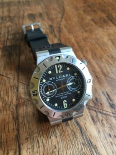Bulgari - Scuba chronograph - SCB38S - Men´s - 2000–2010