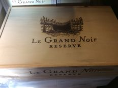 2012 Le Grand Noir Icon Reserve OWC, Languedoc-Roussillon, France , 6 bottles 0,75l
