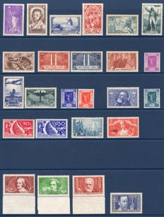 France 1936 - Complete year - Yvert 309-333.