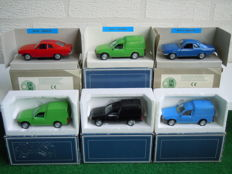 AHC Models - Scale 1/43 - Lot with 6 x Opel & Vauxhall Models