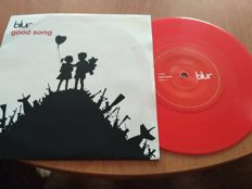 "Blur-""Good Song"" 7 inch on Red Vinyl -Rare"