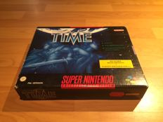 "Snes ""Illusion of Time"" Big Box, Fully Complete"