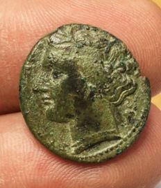 Greek Antiquity - Italy, Sicily Siracusa Hieron II (275-215 BC) AE bronze 4,92g.  20,5mm - CNS 191; HGC 2, 1469; Virzi 1910; Bar Issue 53; cf. SNG ANS 581