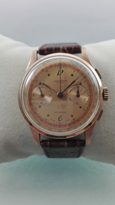 Chronograph Swiss - 18kt 750 Gold - Men's Watch