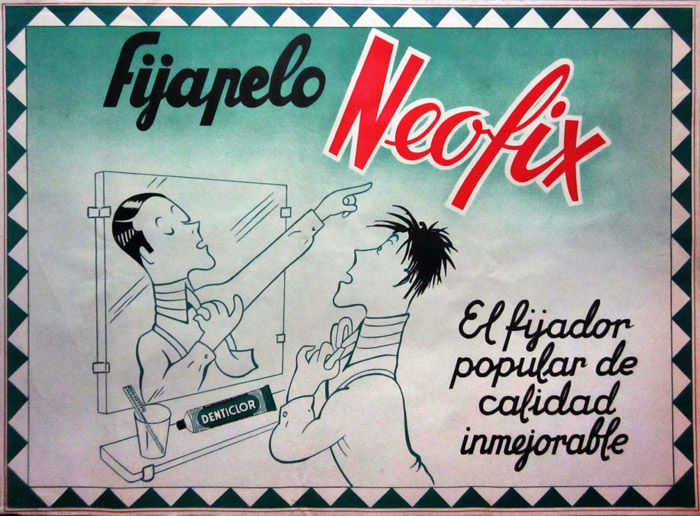 Anonymous - Fijapelo Neofix, Denticlor - 1950s