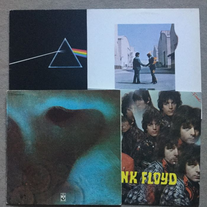 Four of the greatest Pink Floyd album of all time: Wish you