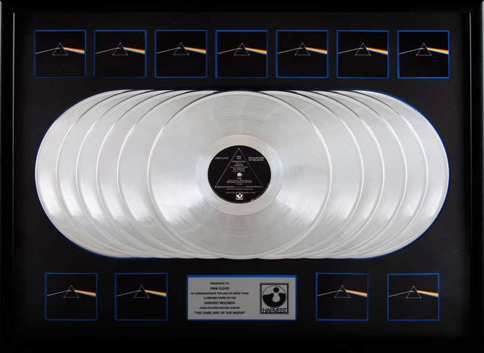 Pink Floyd - The Dark Side of the Moon 11x Platinum Award
