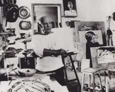 Unknown/Associated Pres & Svenska Dagbladet  - Pablo Picasso - 1953/1960's