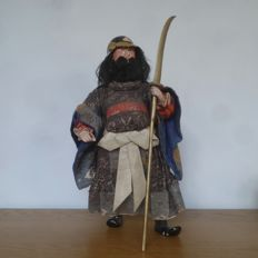Ningyo (doll) – Guardian of the temple – Japan – 19th century (Edo Period).