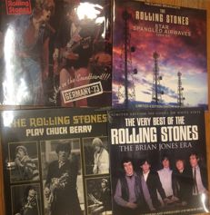 Four albums of The Rolling Stones || Still sealed || Limited edition || Coloured vinyl ||
