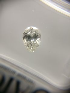 0.62 ct Pear cut diamond F I1