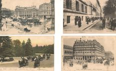 Old postcards from Paris - + 140 old postcards - city Scenes