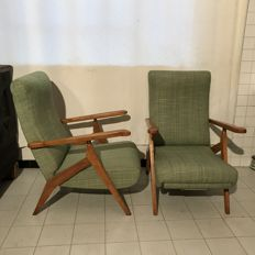 Antonino Gorgone - Pair of reclining armchairs