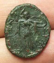 Greek Antiquity - Italy, Sicily Siracuse Pyrros (278-276 BC) AE, 6,24g.  26mm - Very fine, (Calciati II, 176; SNG ANS 852; BMC 503)