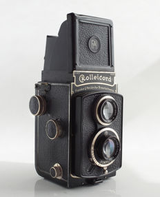 Rolleicord I Model 2 - Model K3- 511, with Carl Zeiss Triotar 3.8 / 75mm, 1934