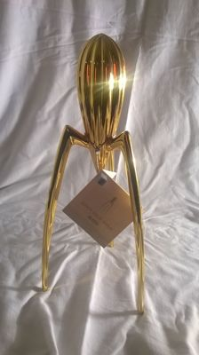 Philippe Starck for Alessi – gold 'Juicy Salif' juicer (limited edition)