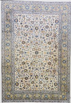 Persian carpet, magnificent Kashan, 416 x 290 cm