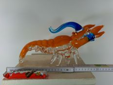 Very Large Lobster - solid glass - 2790 grams