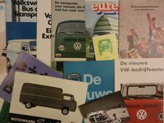 VOLKSWAGEN T2 and T3 VAN - Brochures - 1960s, 1970s and 1980s.