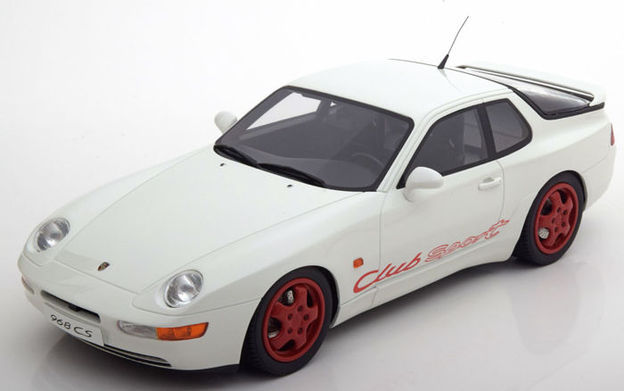 GT-Spirit - Schaal 1/18 - Porsche 968 CS Club Sport 1993 - Limited 504 pcs - Kleur Wit