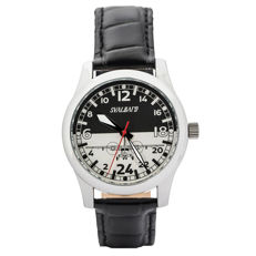 Svalbard Polar Aviation BA19 - 24 Hour aviator watch with Swiss made movement. Numbered Limited Edition 500 pcs.