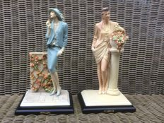 Set of fashion figurines of Tessardi, Italia, 1970s