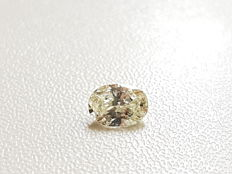 Certified 0.55 Carat I VS1 Oval Enhanced Natural Loose Diamond ** no reserve price **
